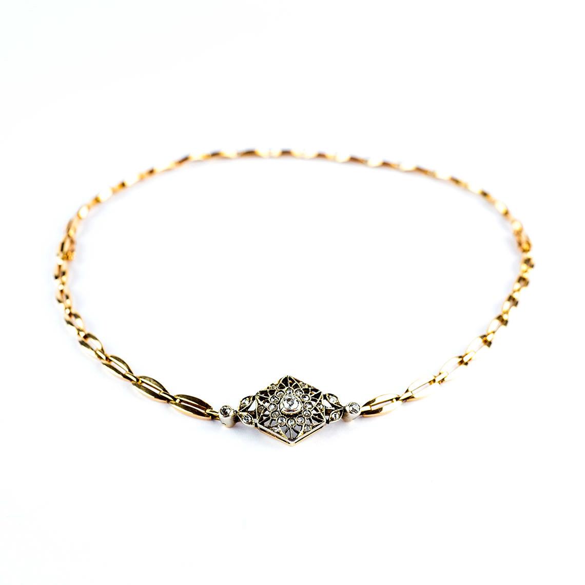 Diamond Choker/Bracelet