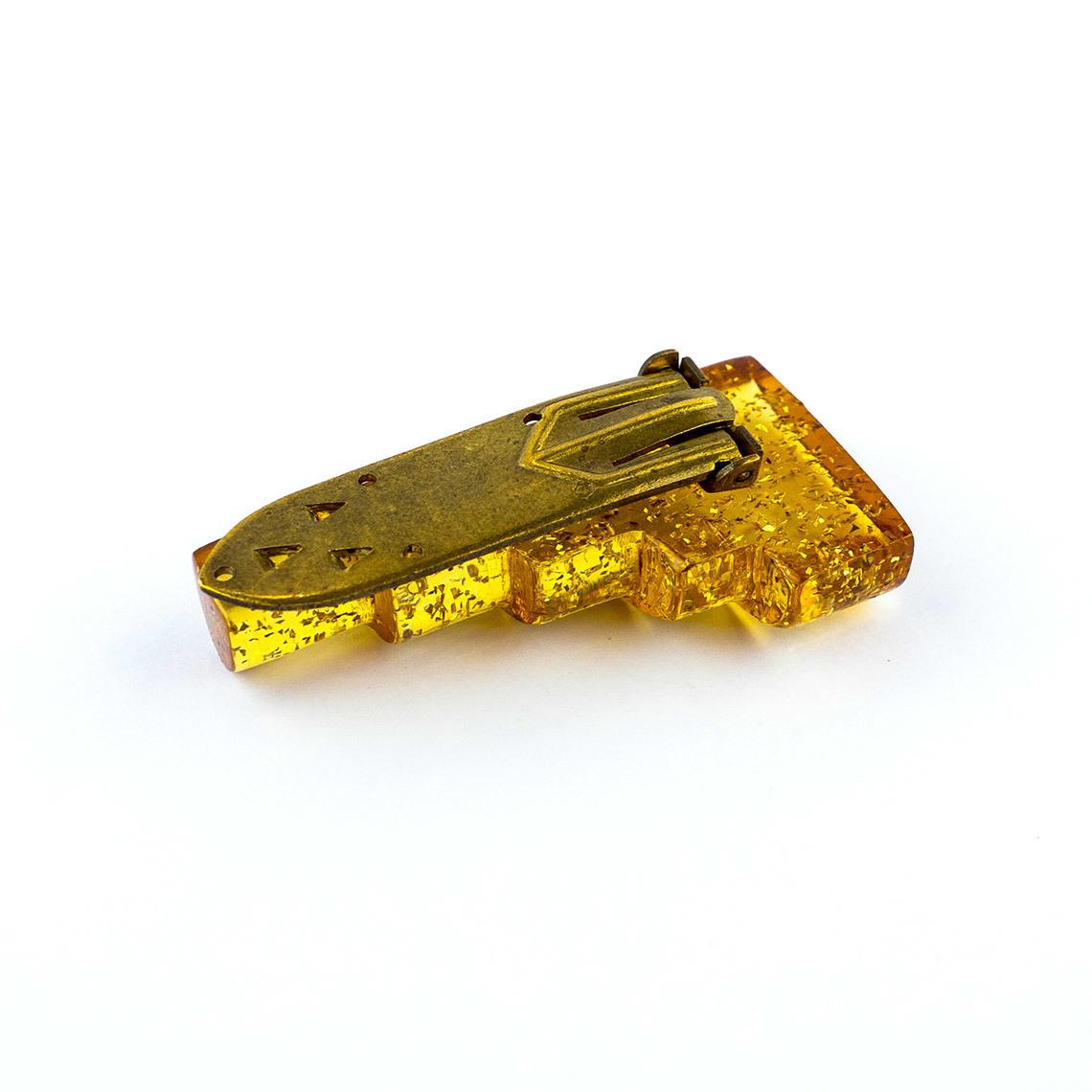 Glitter Brooch