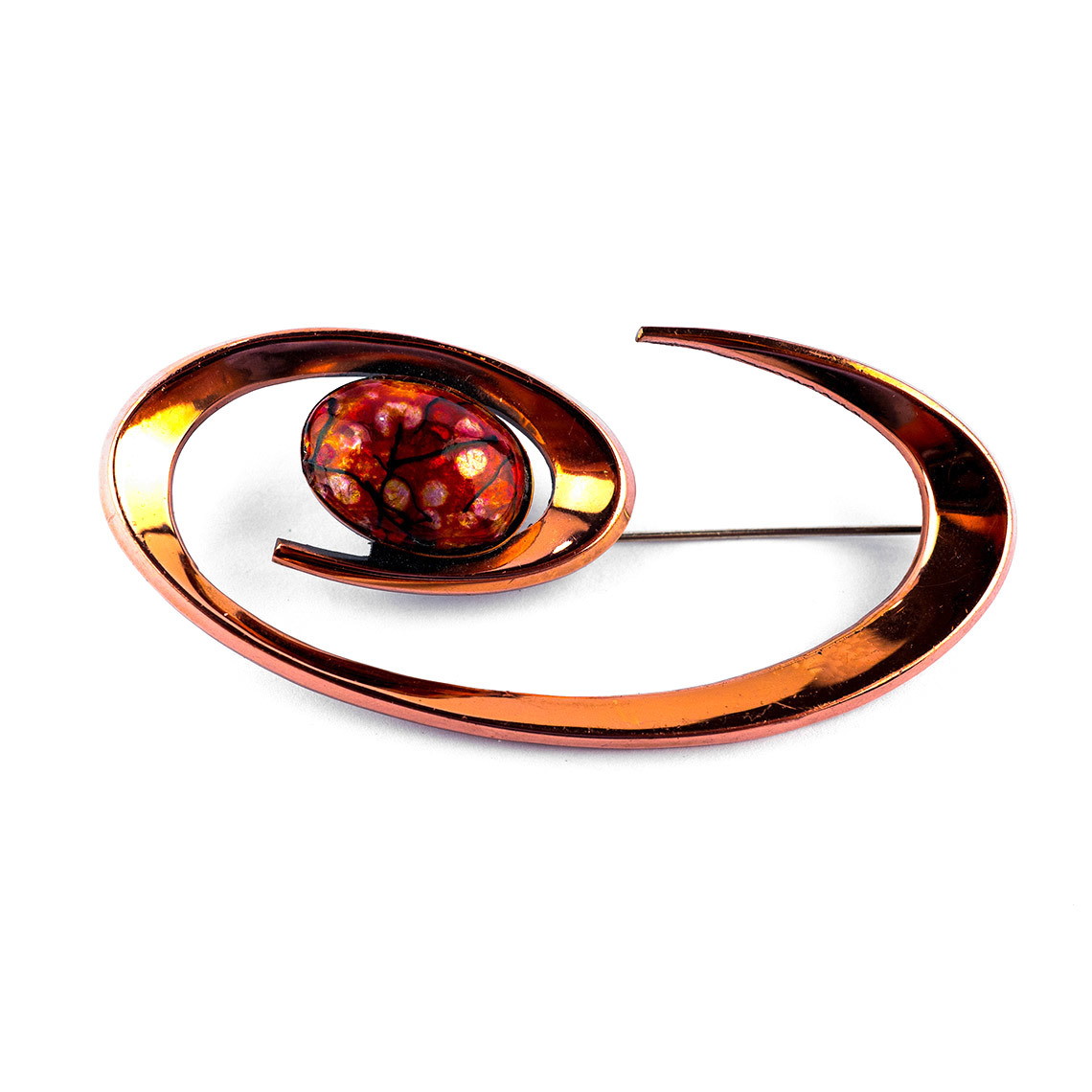 Copper Brooch