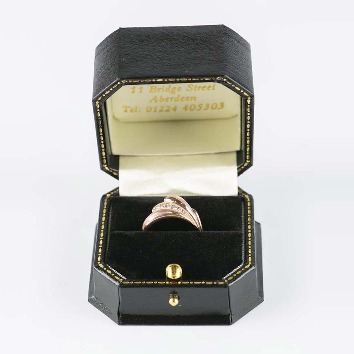 Kabana rose gold ring
