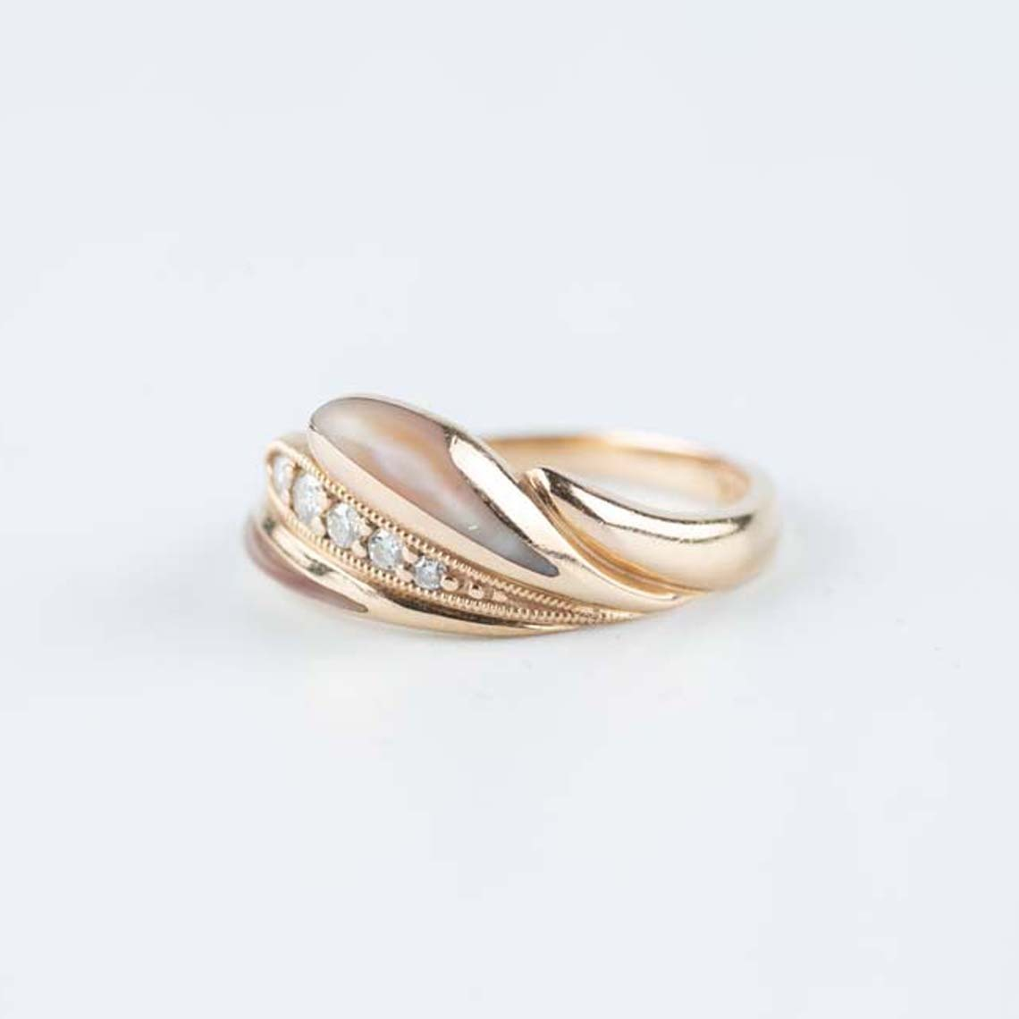 Kabana rose gold ring