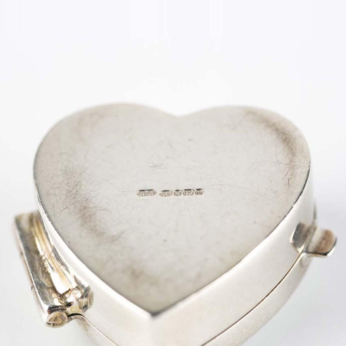 Silver Pill Box