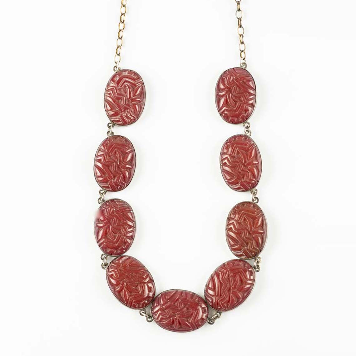 Vintage bakelite necklace