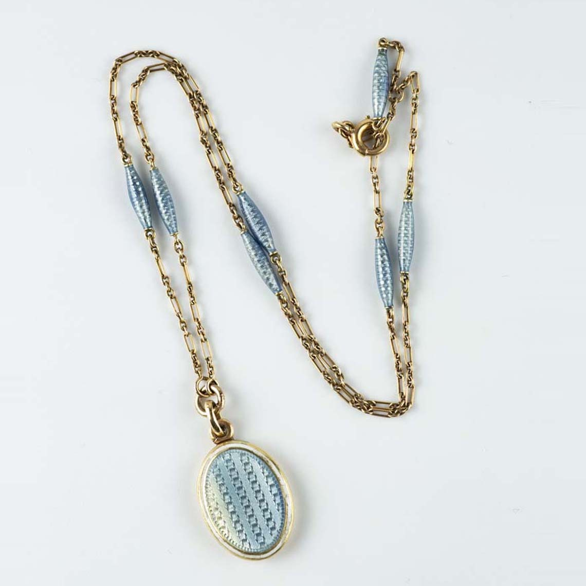 Edwardian enamel locket