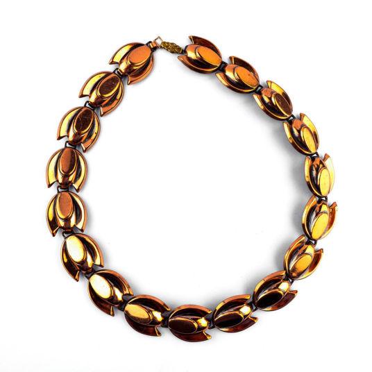 Copper Disc Necklace