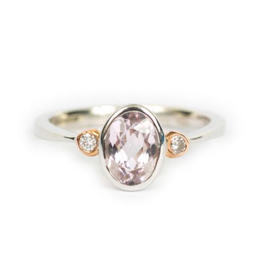 Lilac Kunzite Ring