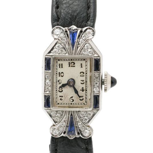 Art Deco Cocktail Watch