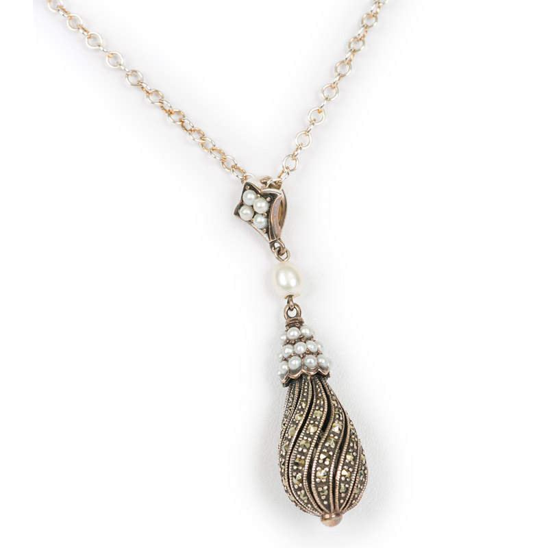 Pearl Cone Shaped Pendant