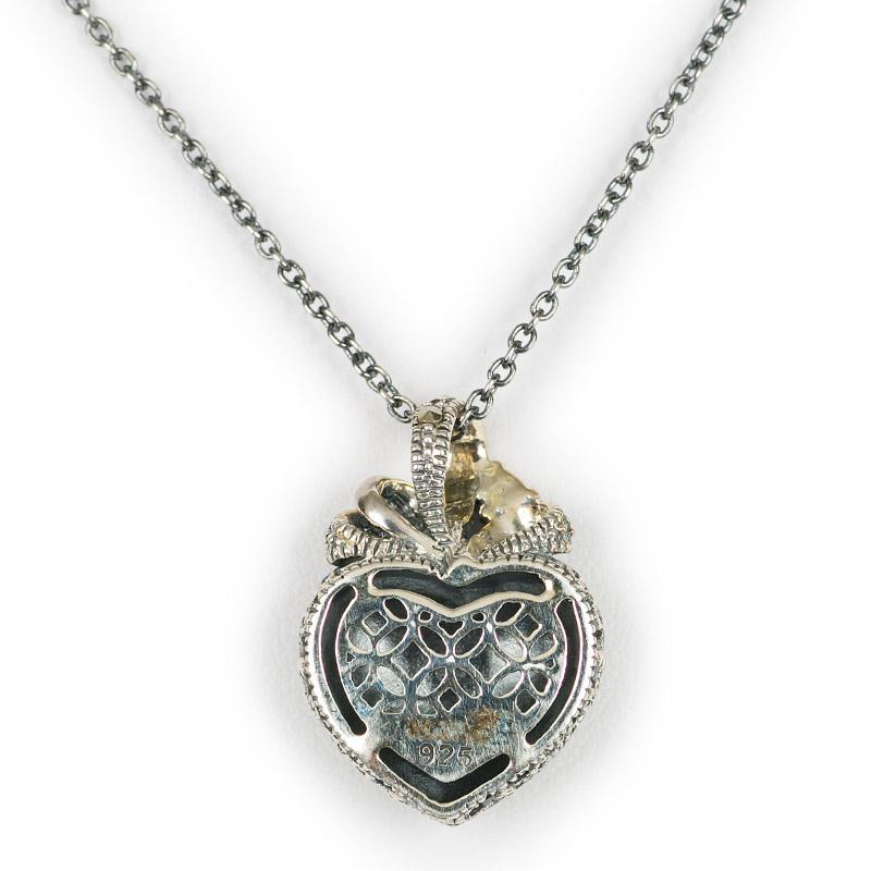 Silver Heart Shaped Pendant