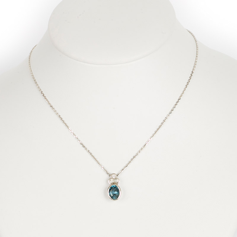 Oval Spinel Pendant