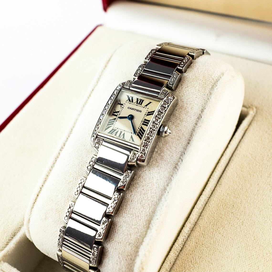 Cartier Ladies Tank Francaise